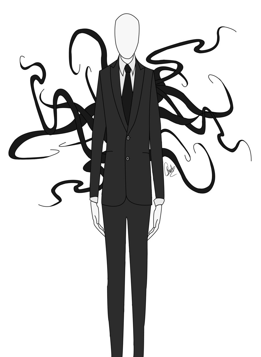 insidious drawing slender man