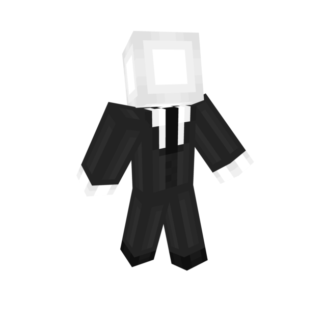Slenderman minecraft png. Contest skin th place