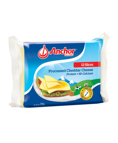 Slice of cheese png. Anchor cheddar slices