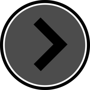 Slideshow arrow png. Gray and black clip