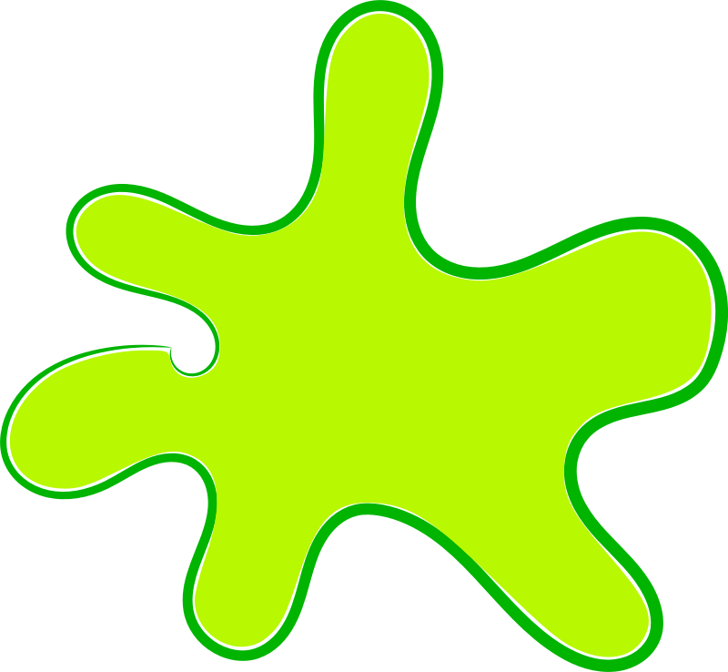 Slime clipart yellow slime. Splash free for download