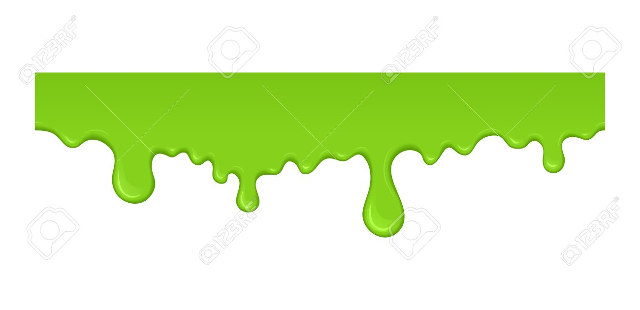 Slime clipart fluffy. Dripping clipartxtras