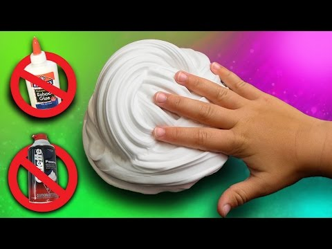 Slime clipart fluffy. Without glue or shaving