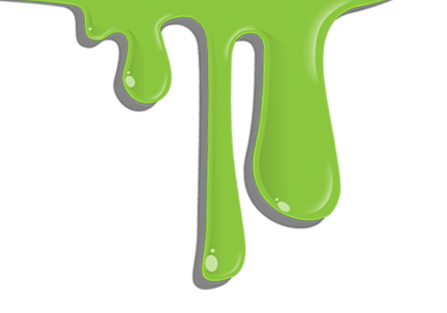 Slime drip png. Blue green dripping ooze