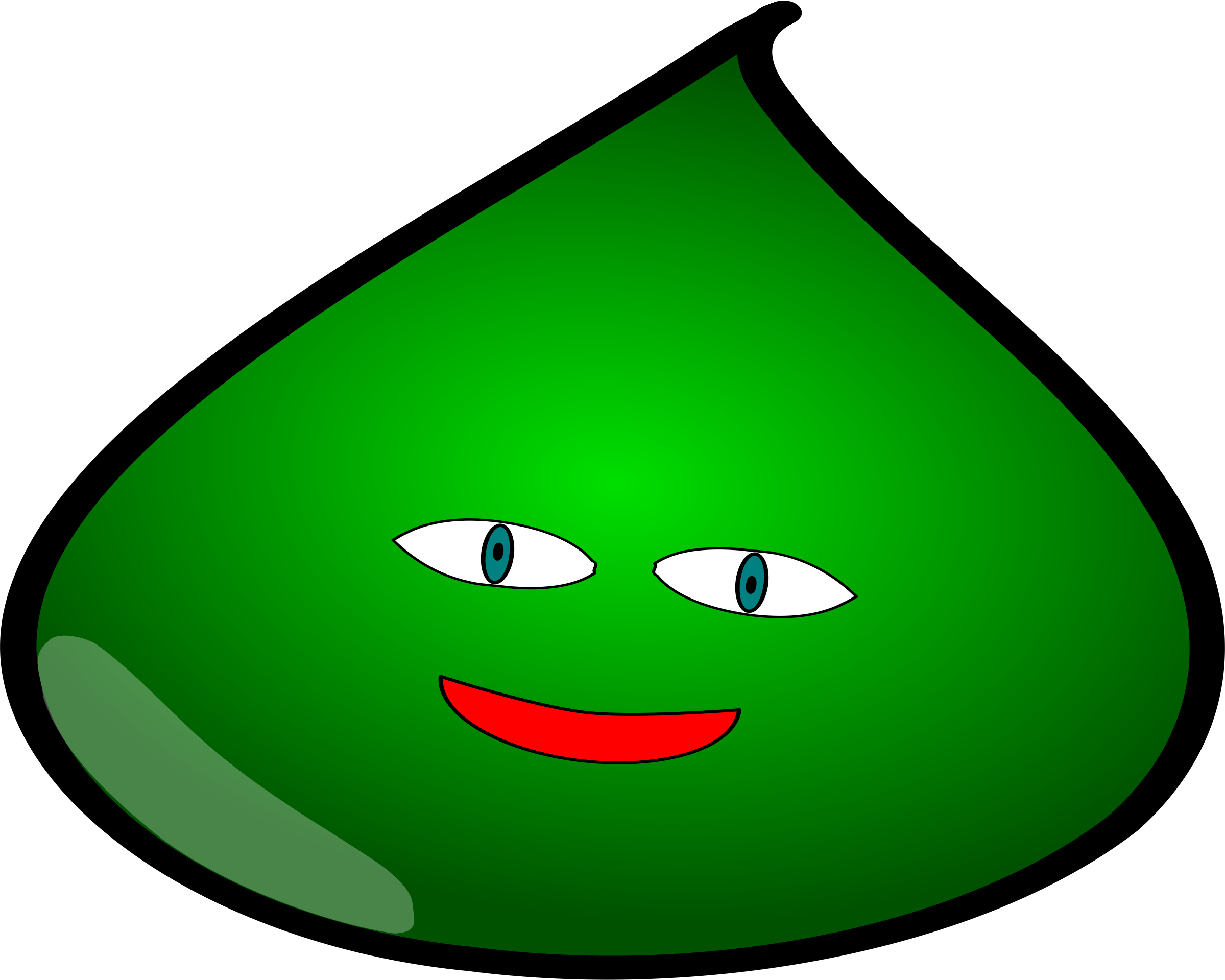 Slime monster png. Green icons free and