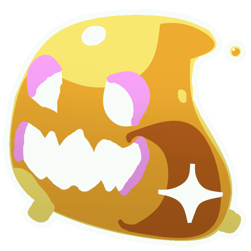 Slime rancher rock slime png. Image gold tarr fanon