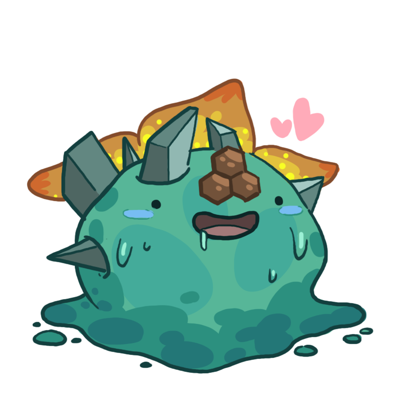 Slime rancher rock slime png. Honey tangle by e