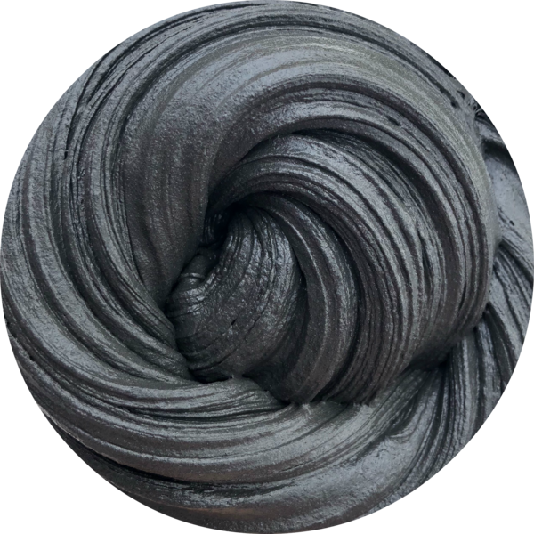 Slime swirl png. Charcoal butter super soft