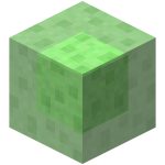 Transparent blocks mine craft. Slime block official minecraft