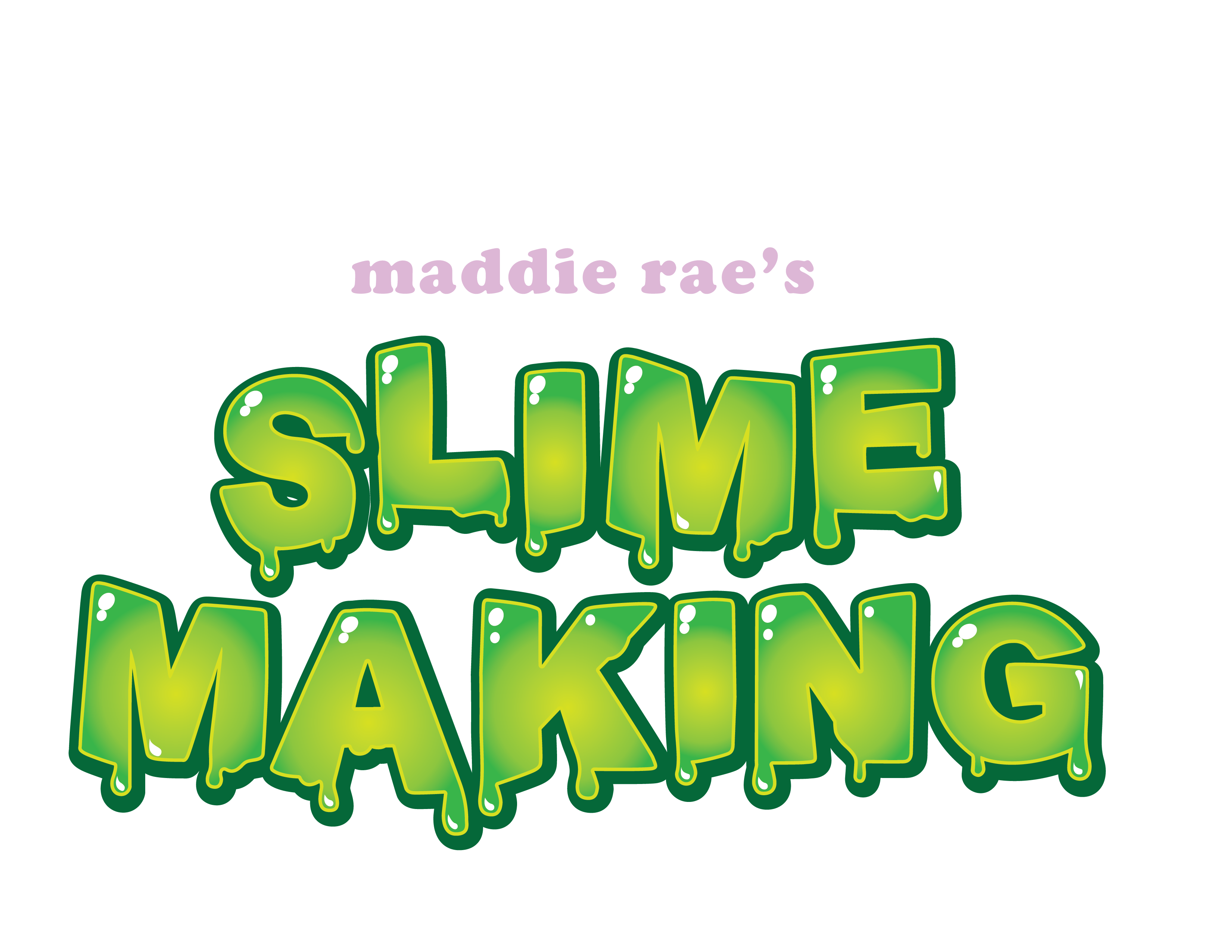 Slime word png. Glue scs direct