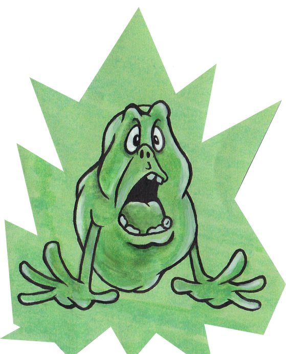 Slimer drawing cartoon. Sdwalden