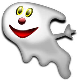 Clip art library ghost. Slimer drawing happy clip black and white