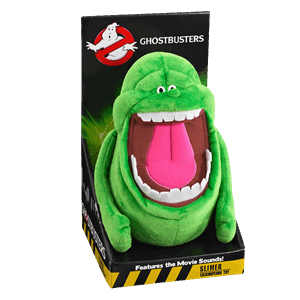 Slimer drawing dog. Ghostbusters zing pop culture