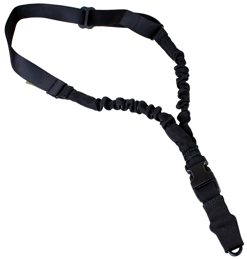 Sling clip single point. Bungee evo black