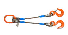 Sling clip wire. Rope slings cable murphy