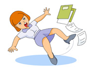 Slip clipart. Search results for fall