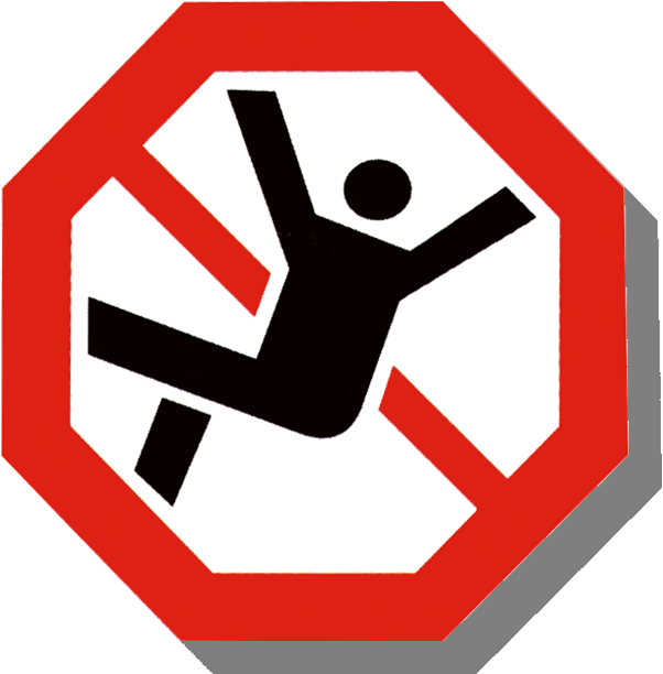 Slip clipart industrial accident. Fall accidents may have