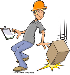 Slip clipart industrial accident. Preventing slips trips and