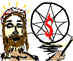 Slipknot drawing. If jesus was a