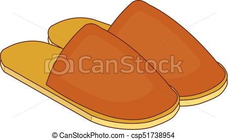 Slippers clipart. Home icon in cartoon clip royalty free library