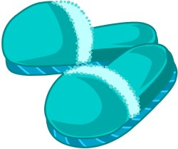 Slippers clipart.  picture transparent download