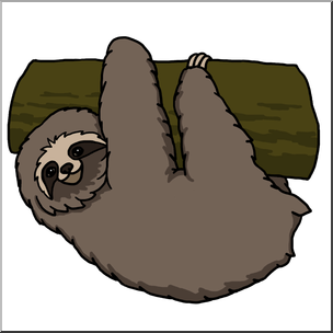 At getdrawings com free. Sloth clipart vector free download
