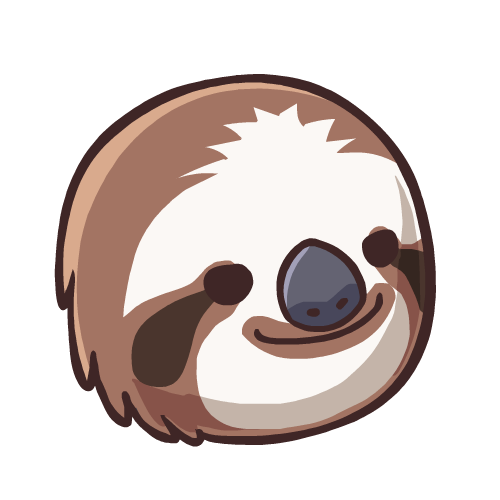 Sloth head png. Collection of clipart