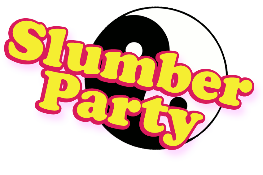 Slumber party png. Sleepover wedding invitation clip
