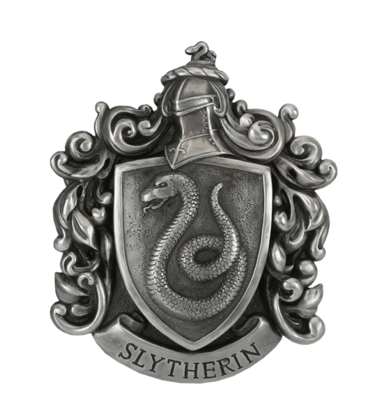 Slytherin crest png. Wall plaque