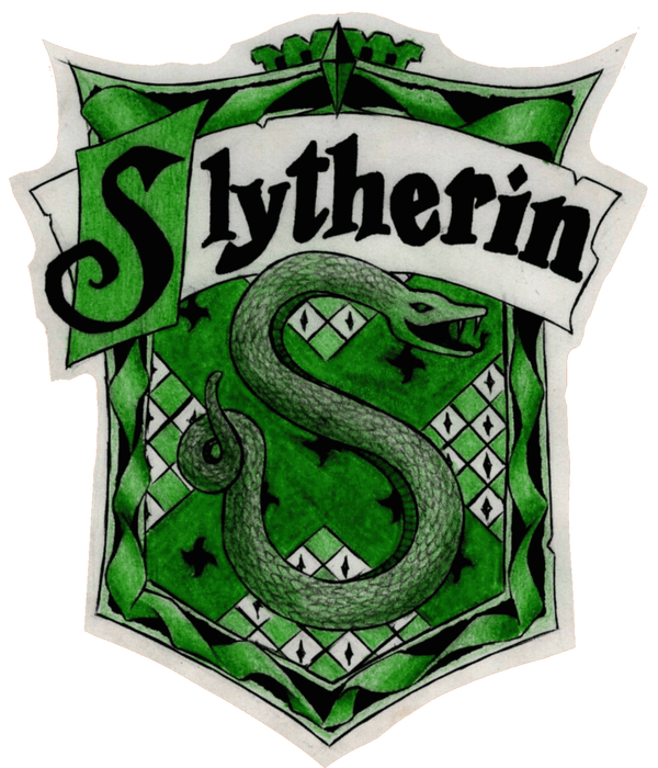 Slytherin drawing cute. Crest traits art