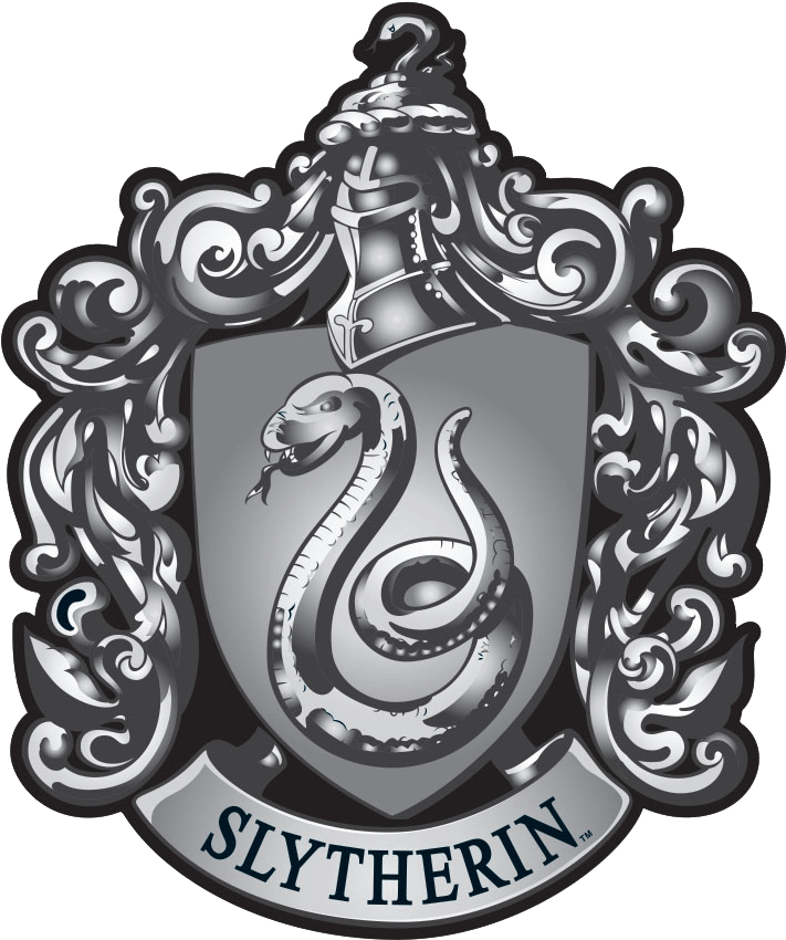 Slytherin crest png. Download lapel pin dark