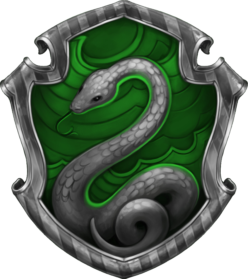 slytherin transparent harry potter