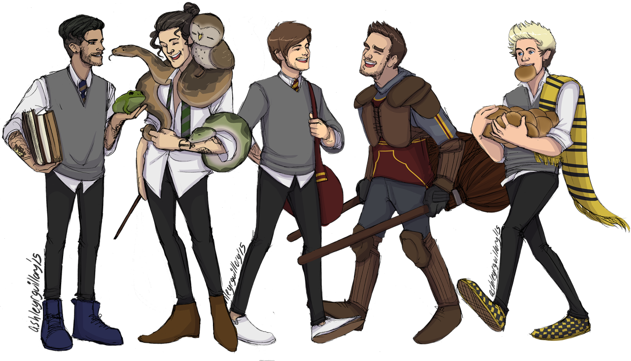Slytherin drawing ravenclaw. Louis tomlinson harry styles