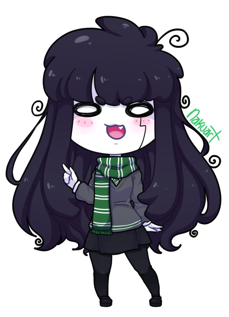 Slytherin drawing adorable. A proud by nakuart