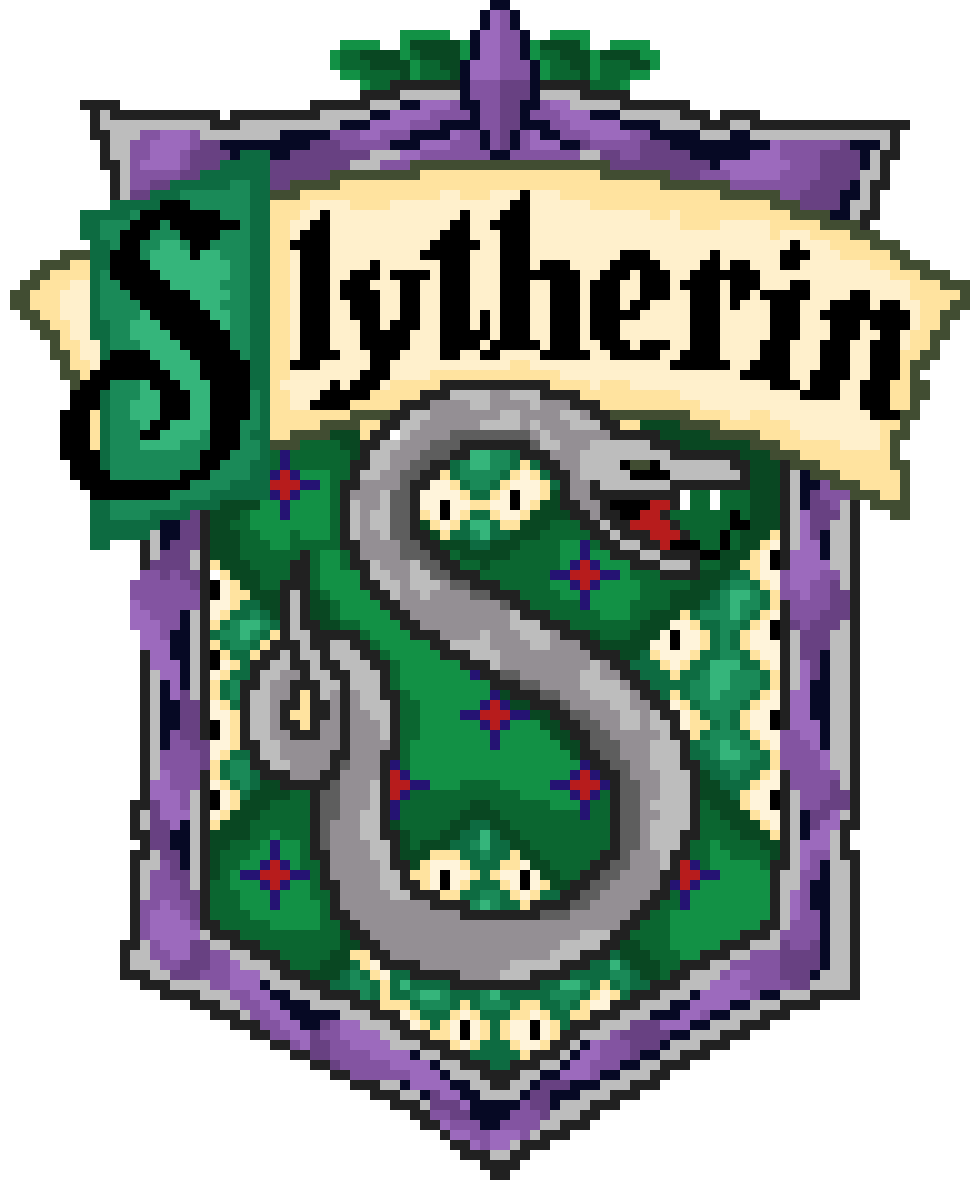 Slytherin drawing character. Pixilart house by kittyhighfives