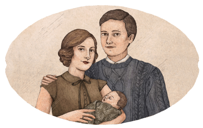 Portraits drawing family. The longbottom tree pottermore