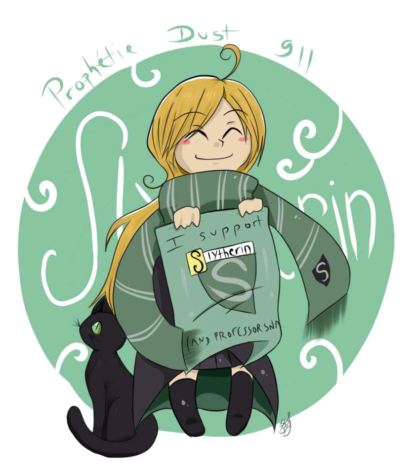 slytherin transparent cartoon