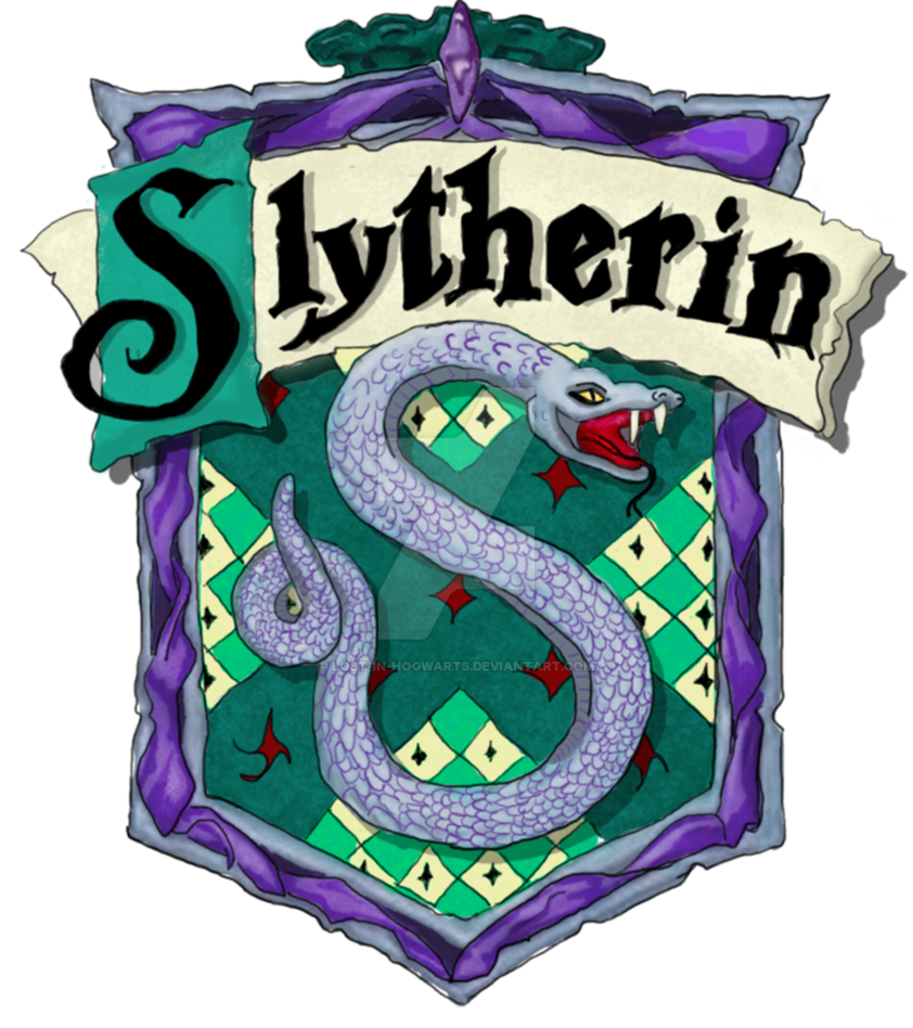Slytherin transparent. Print by lost in