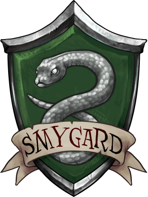 Slytherin transparent avatar. Coat of arms by