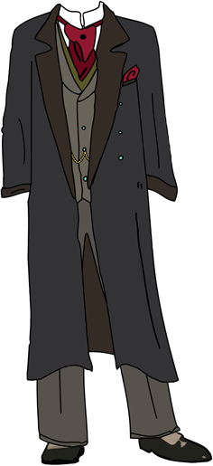 Slytherin transparent moriarty. The jim paper doll