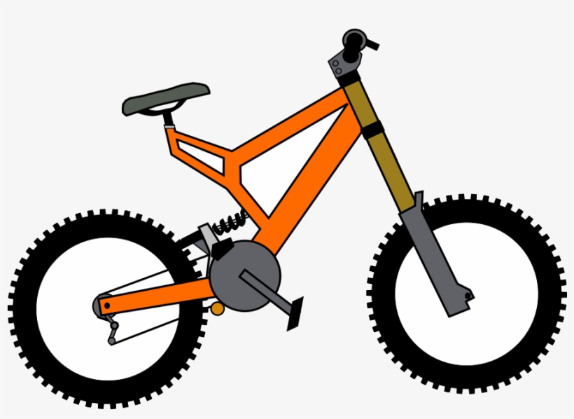 Small bicycle. Bike clipart clip art