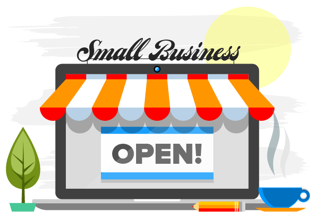 street clipart small business