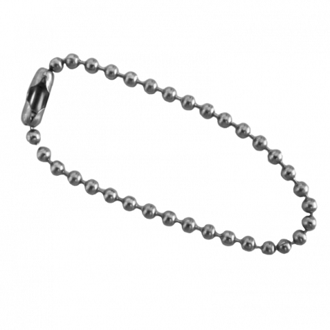 Small chain png. Short stainless steel ball