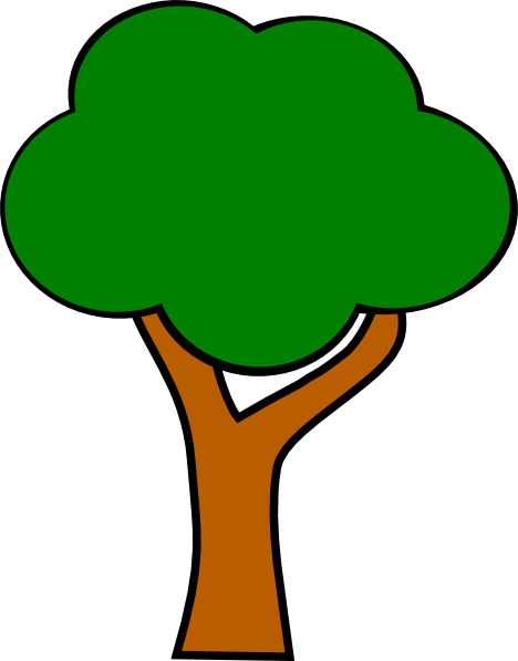 Small clipart apple tree. Clip art at clker
