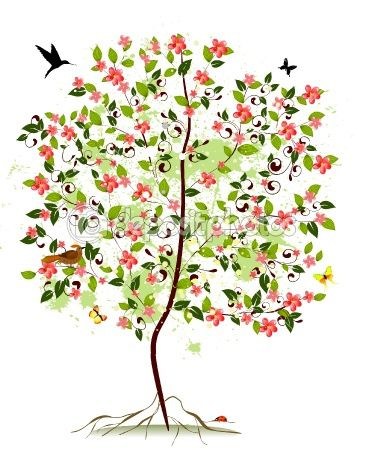 Small clipart apple tree. Best inspirations images