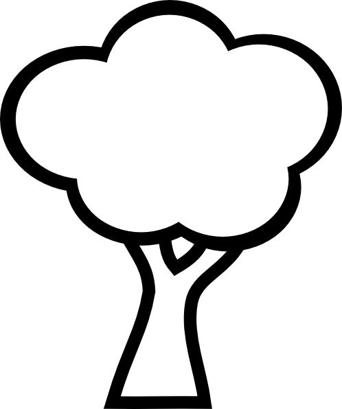 Small clipart apple tree. Appletree clip art at