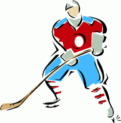 Small clipart hockey. Vintage apple clipartcow clipartix