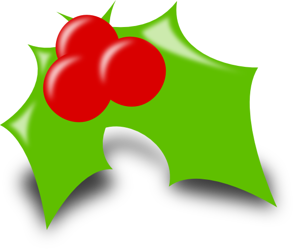 Small clipart holly. Clip art at clker