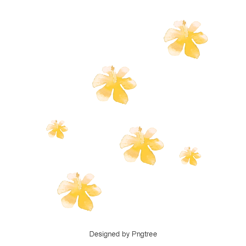 Small flowers png. Yellow flower vector flowersmall