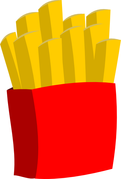 Small fries png. French clip art at